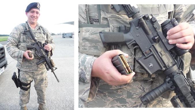 機関銃と弾