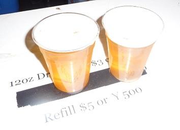 横田基地のビール